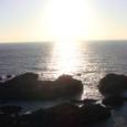 11 太平洋に沈む夕日